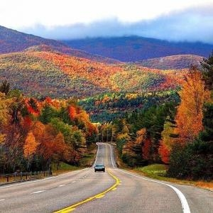 The Fall Colours Of Cape Breton